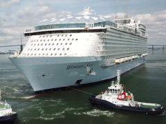 Grootste cruiseschip ter wereld maakt testvaart – NL